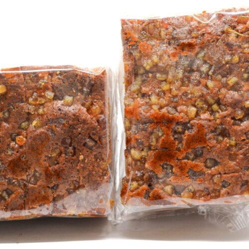 Peperkoek met gember en sinaas